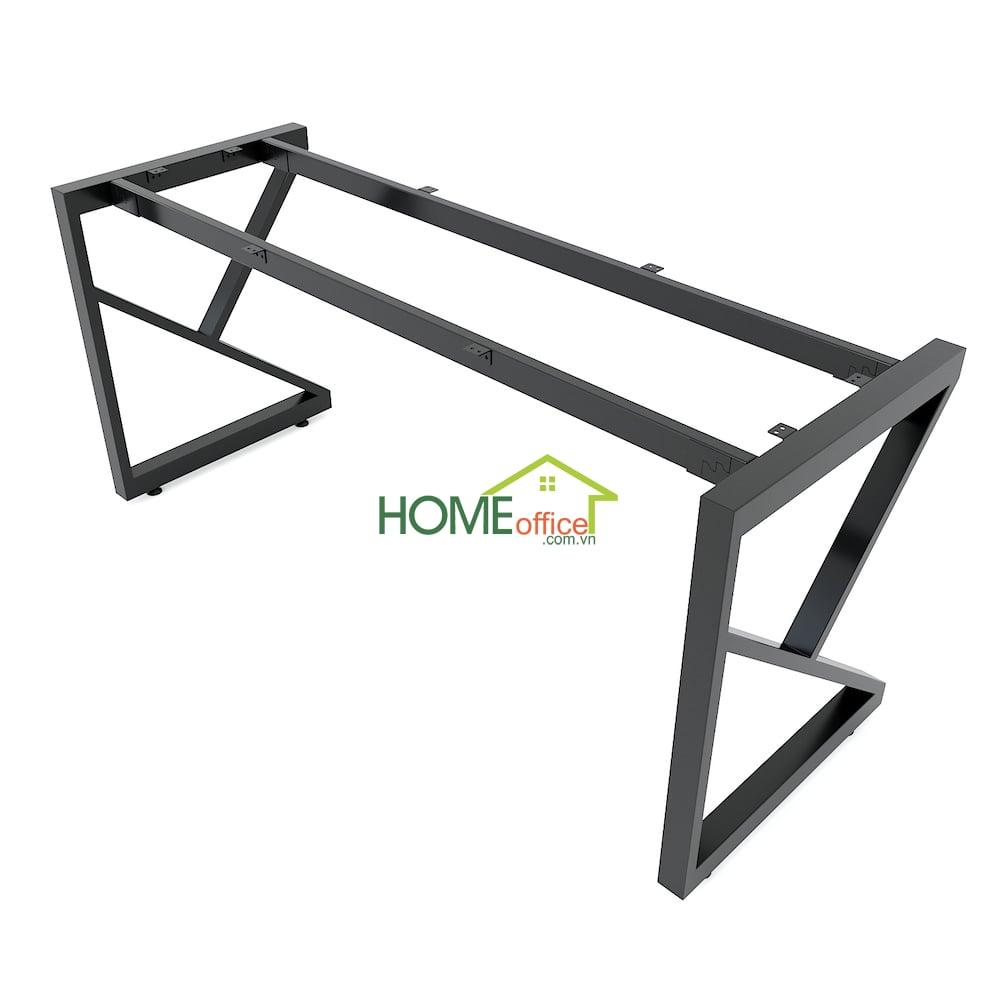 chân sắt lắp ráp cho bàn kích thước 160x60cm