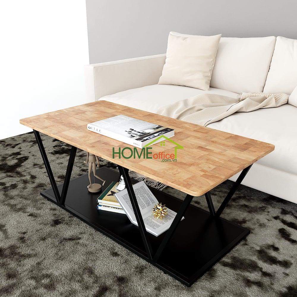 bàn sofa, bàn trà 2 tầng