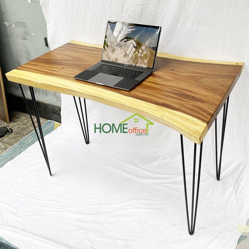 mua bàn làm việc mặt bàn gỗ tự nhiên