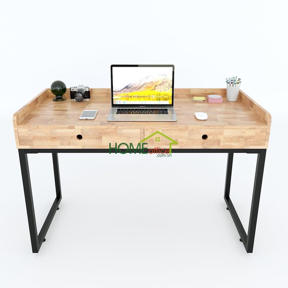 bàn làm việc 2 ngăn kéo