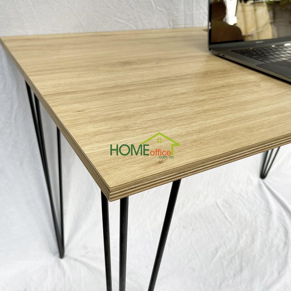 bàn làm việc mặt gỗ