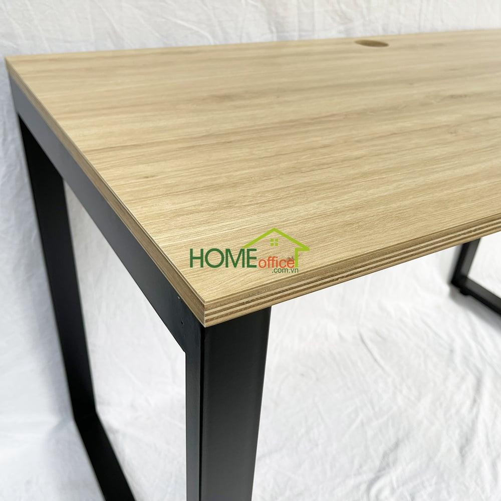 Bàn làm việc mặt bàn gỗ plywood