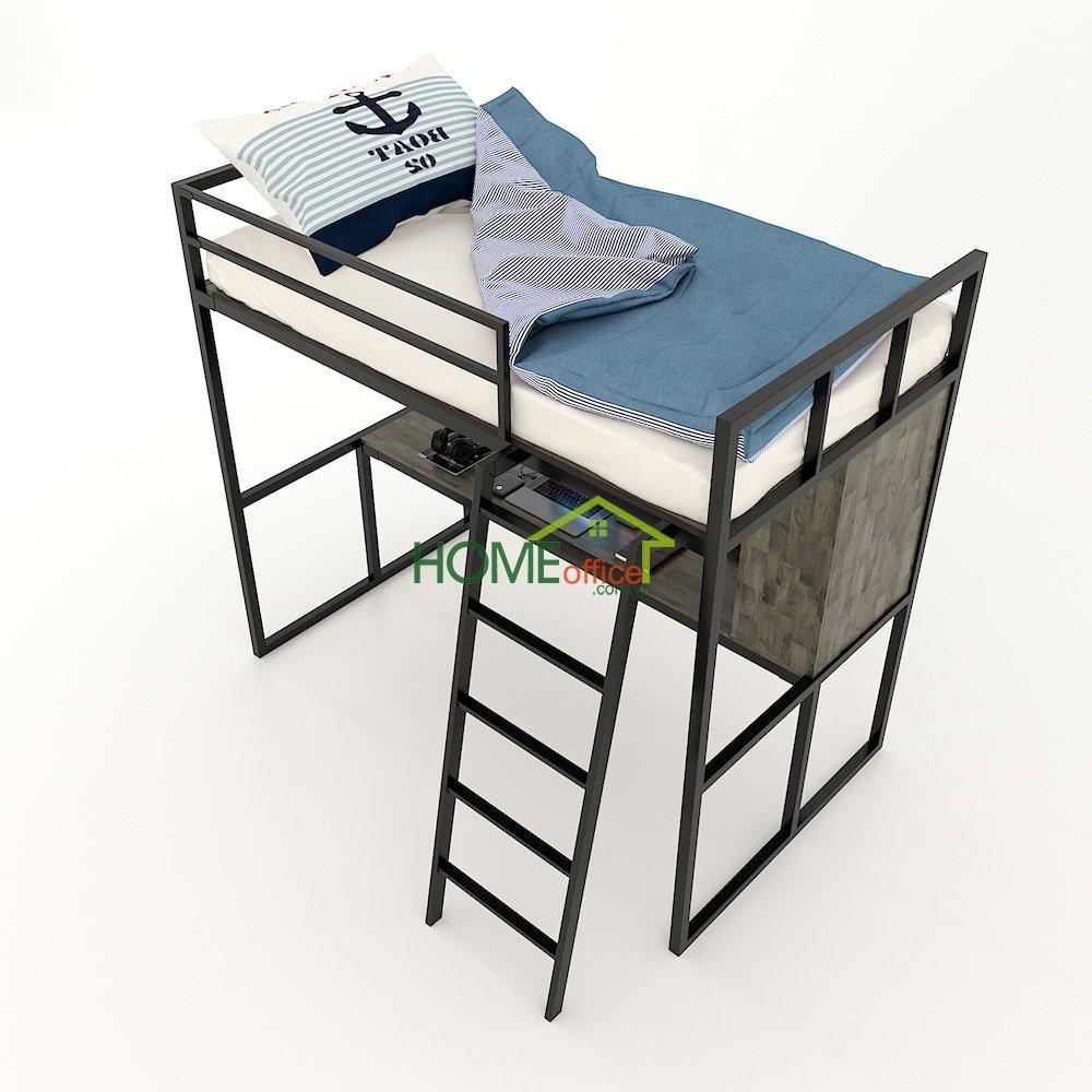 giường ngủ kết hợp bàn học