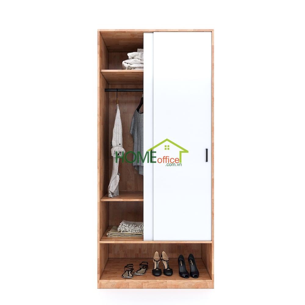 tủ quần áo hiện đại gỗ tự nhiên