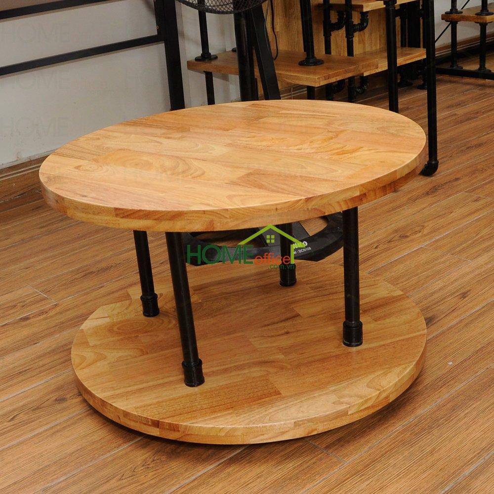 bàn sofa gỗ chân ống nước