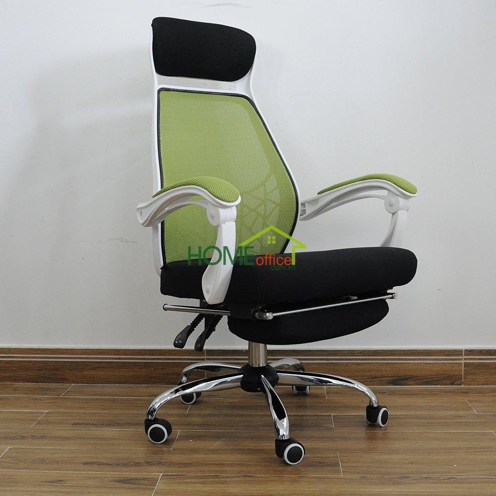 ghế văn phòng màu xanh