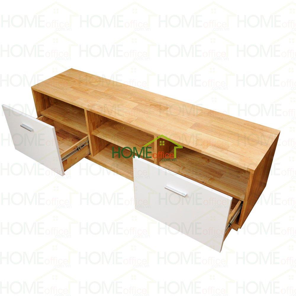 Tủ gỗ để tivi phòng khách Đẹp