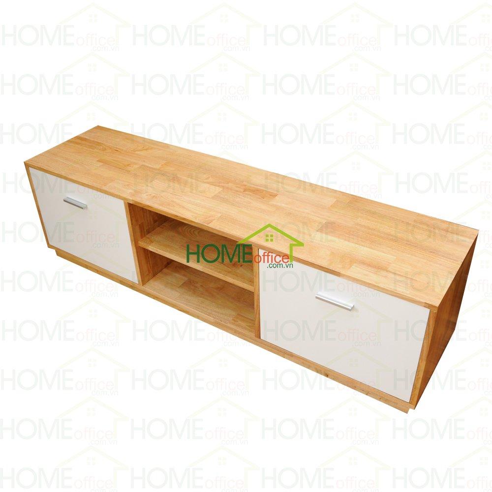 tủ kệ tivi phòng khách bằng gỗ