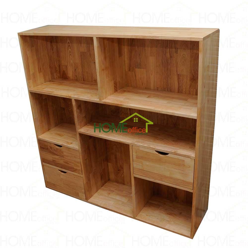 kệ tủ để hồ sơ văn phòng bằng gỗ cao su