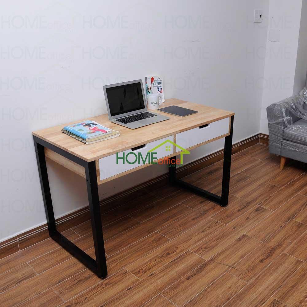 bàn làm việc có 2 ngăn kéo