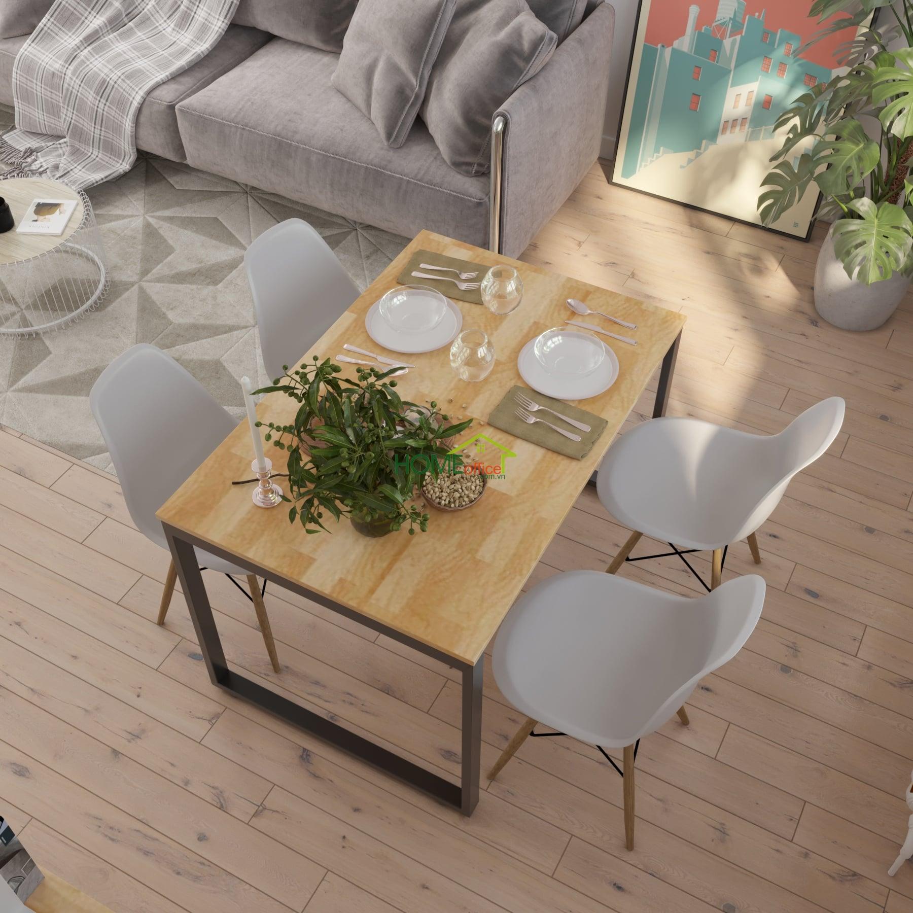 bàn ăn chung cư