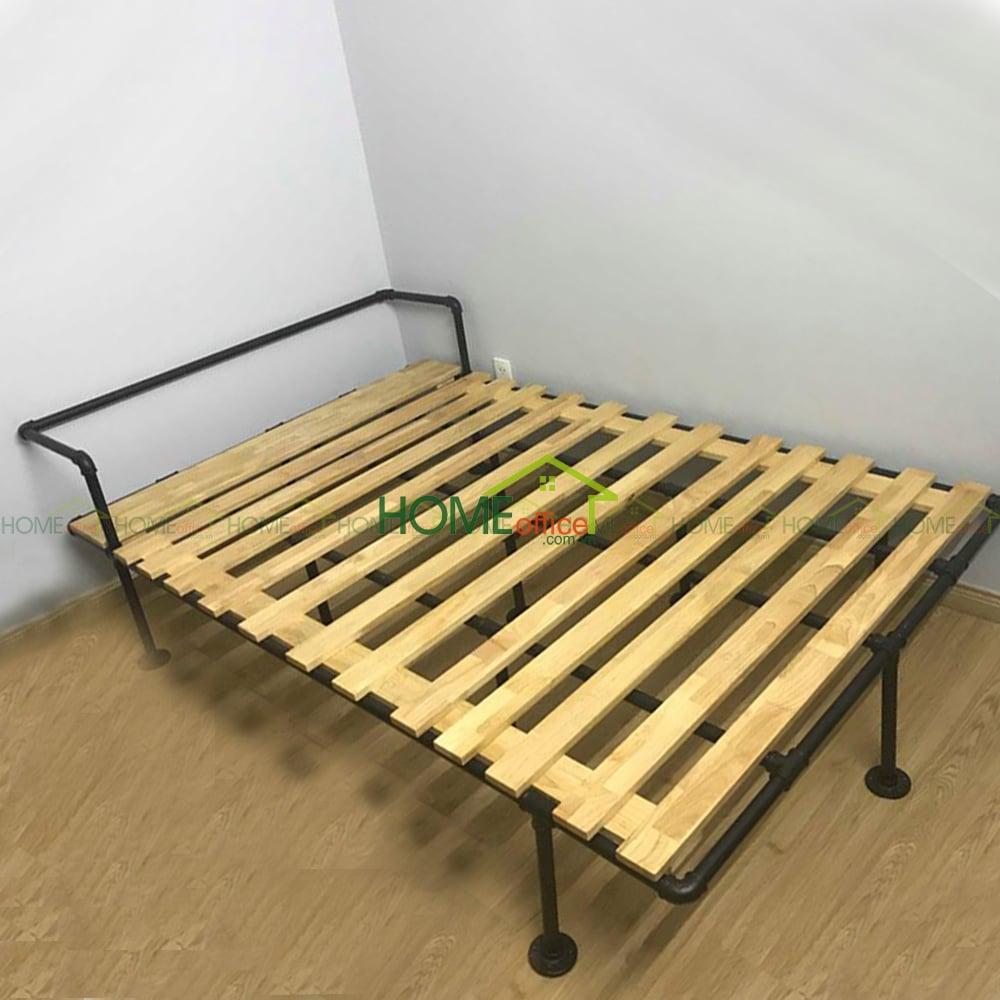 Giường ngủ chân ống nước