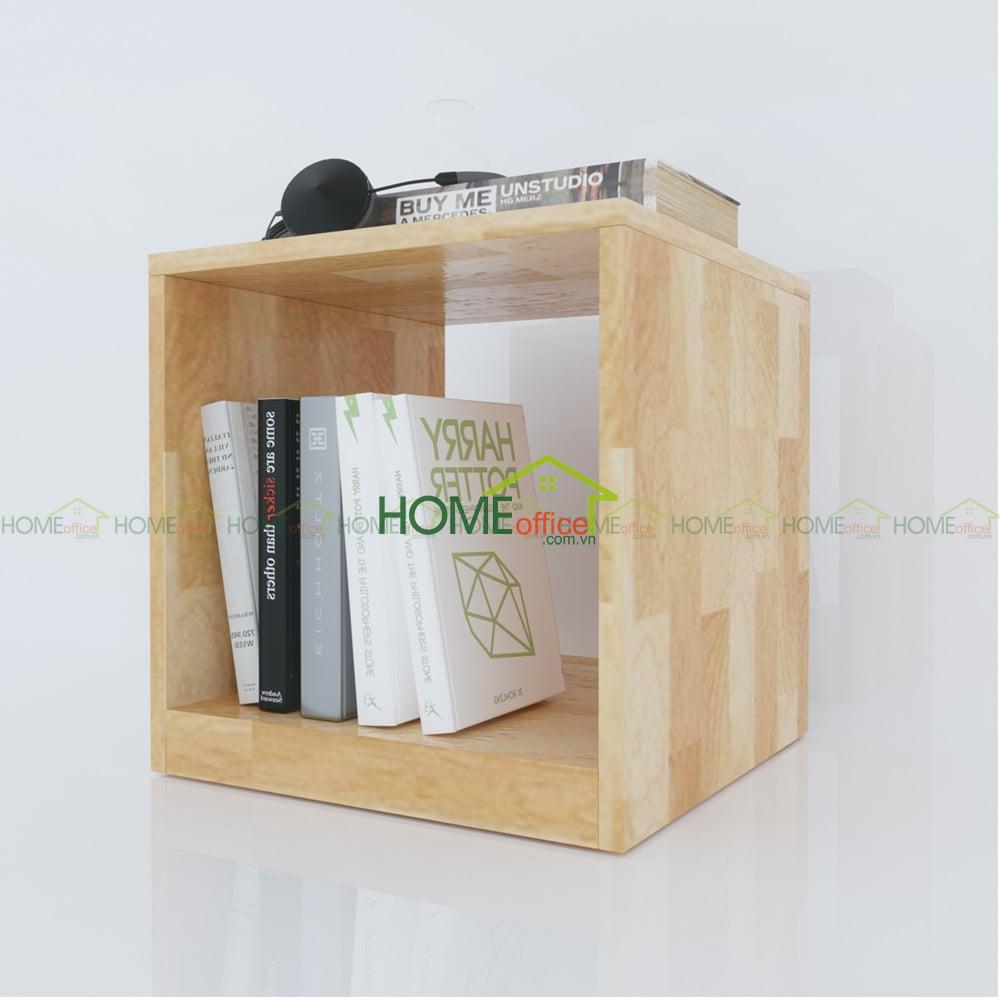 Tủ đầu giường gỗ thông tự nhiên