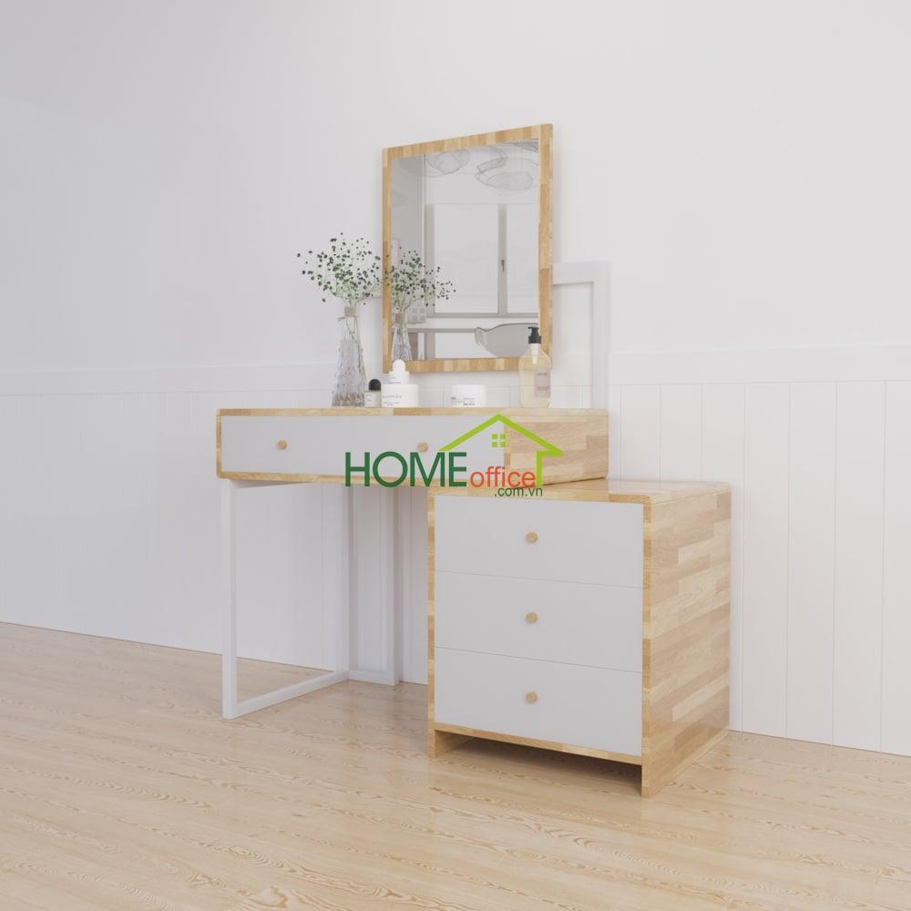 bàn trang điểm gỗ btd68009