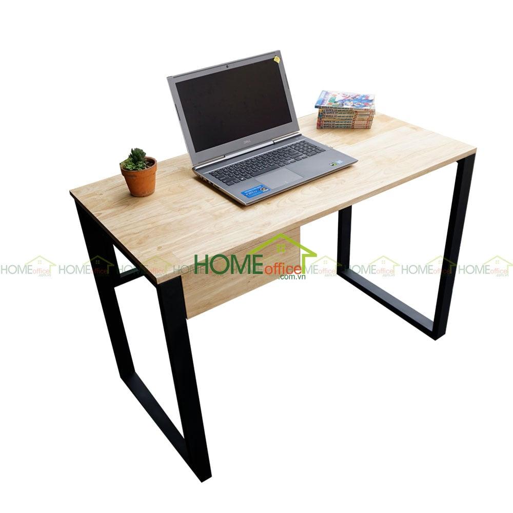 bàn học gỗ cao su có ngăn kéo
