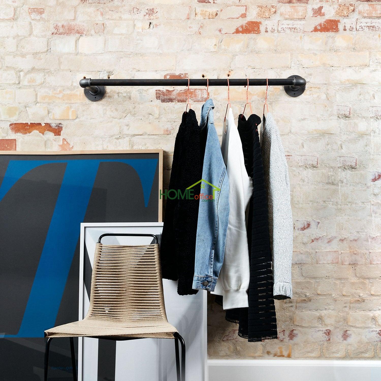 giá treo quần áo gắn tường